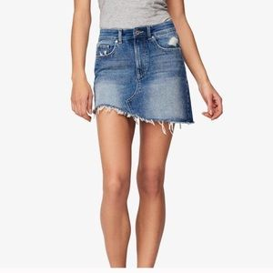 NWT Anthro DL1961 Blue Jeans Skirt